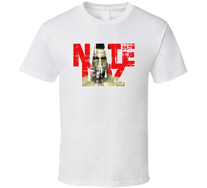 Nate Diaz Tee Nathan Donald Mcgregor Diaz 2 UFC Cesar Gracie Jiu-Jitsu T Shirt