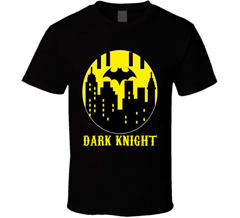 Gotham City New York Real Metropolis Map R Kelly Movie T Shirt Batman