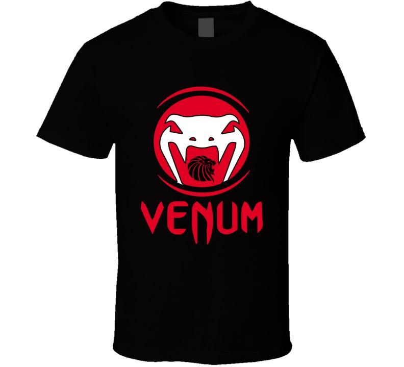 Venum MMA Fighter T Shirt Venum Boxing Top Michael Venum Gear UFC Tee