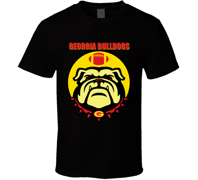 Georgia Bulldogs Football Team T Shirt University Of Georgia Roster