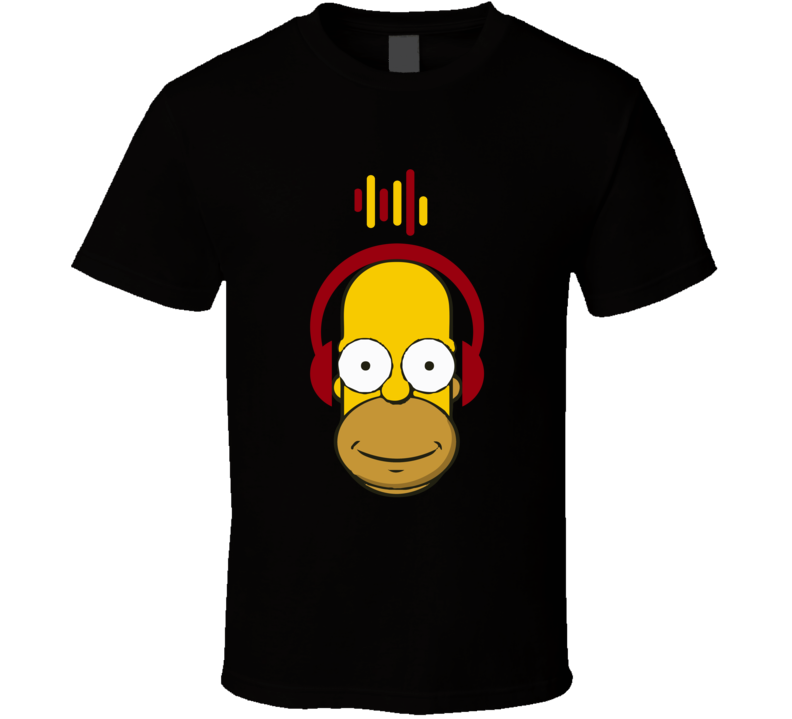 Prime Simpsons T Shirt Homer Simpson Headphones Music Vintage Simpsons Top Download Free Architecture Designs Scobabritishbridgeorg