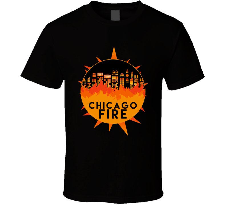 Chicago Fire T Shirt Scorched Earth The Hose or The Animal One 100 Top