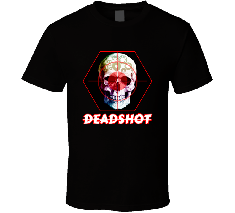 Injustice 2 Red Hood T Shirt PC Gamer Deadshot Poison Ivy Movie Top