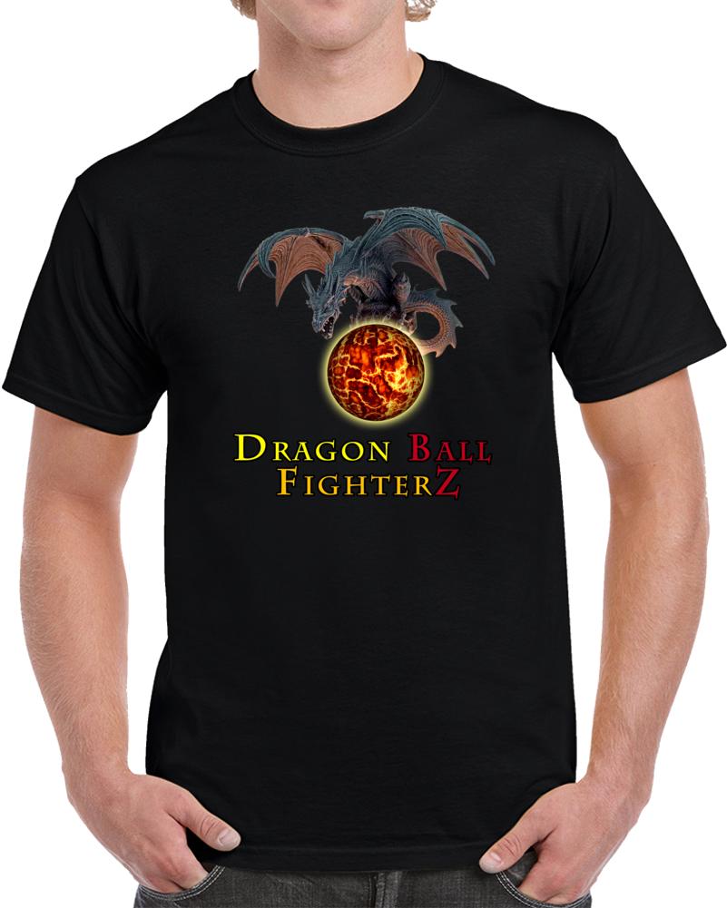 Dragon Ball FighterZ T Shirt Future Trunks Super Saiyan Goku Gamer Top