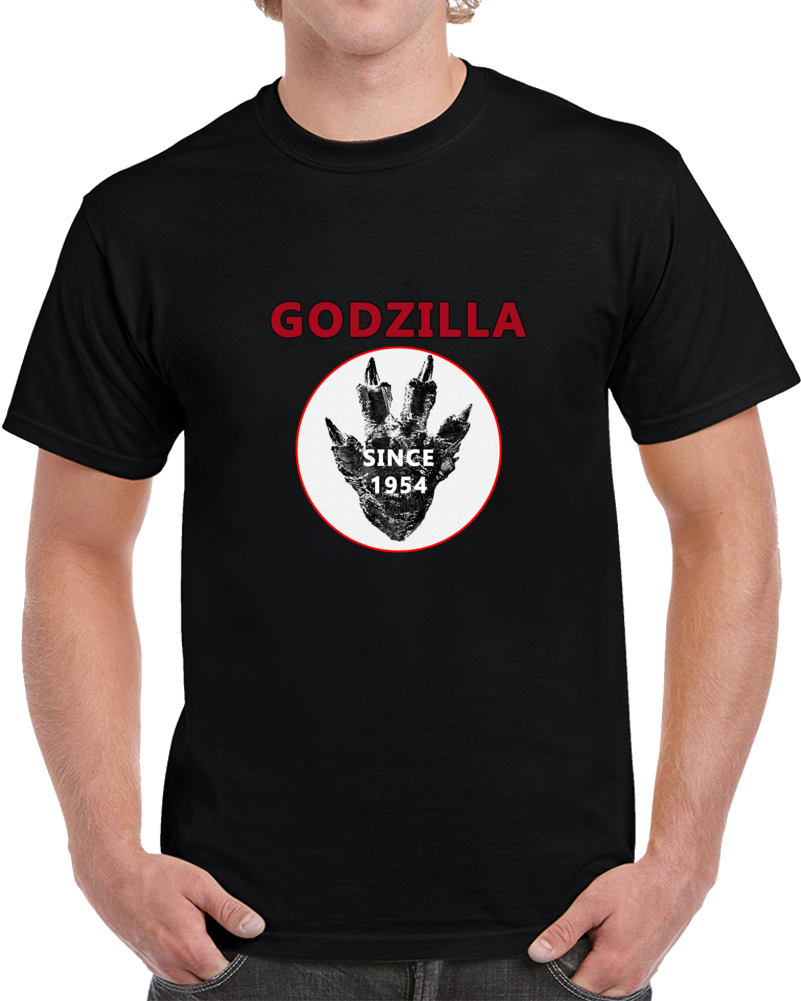 Godzilla Movie T Shirt Haruo Nakajima King Of The Monsters Gigantis