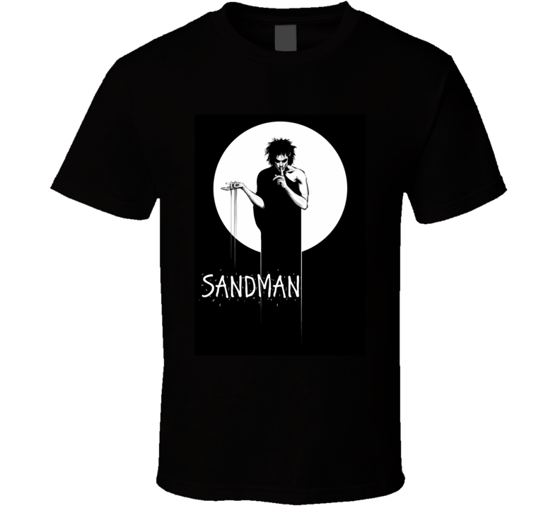 The Sandman Comic Dark Fantasy Movie T Shirt Overture Hoffman Wrestler