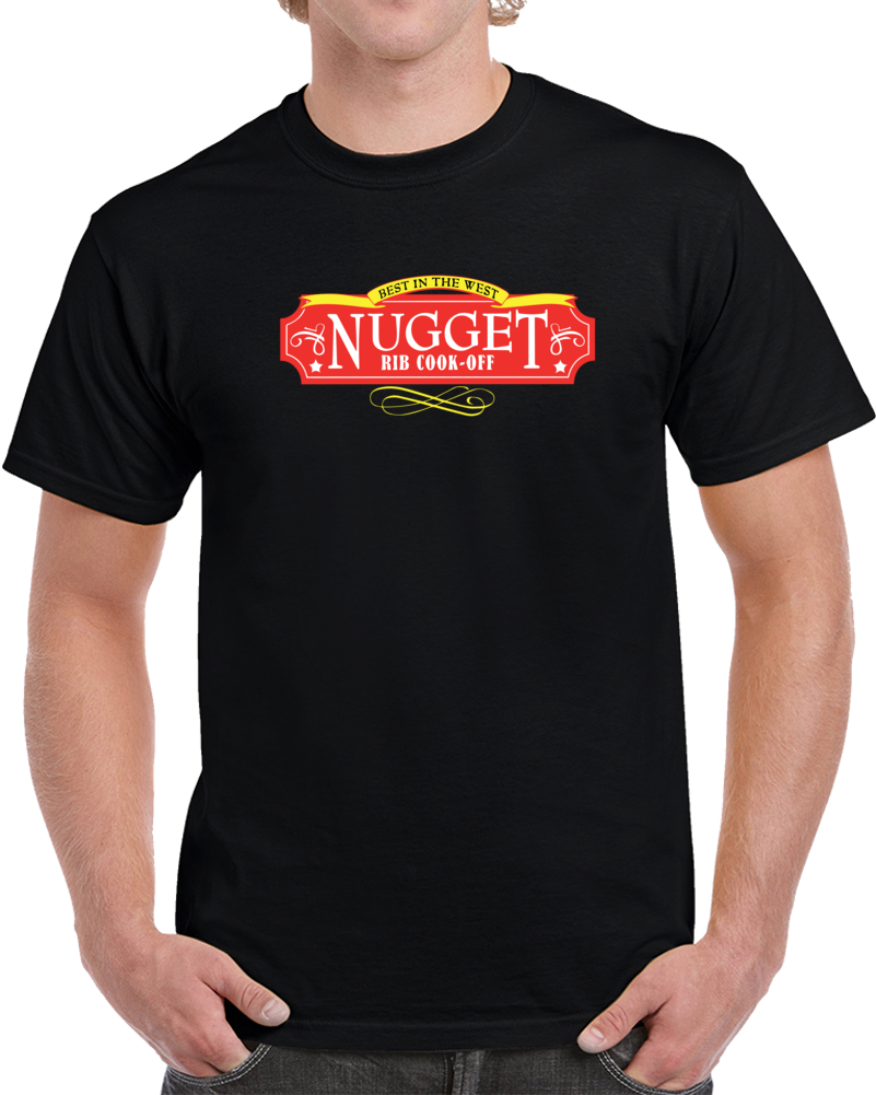 Best In The West Nugget Rib Cook-off T Shirt Entertainment Competition