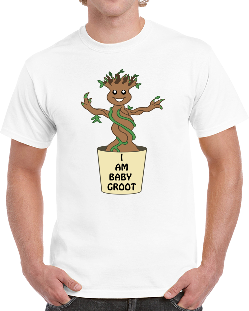 I Am Baby Groot T Shirt Guardians Of The Galaxy 3 Groot Baby Doormat