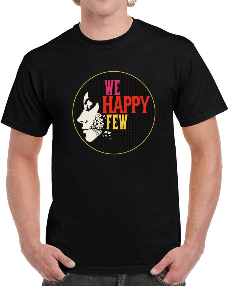We Happy Few T Shirt Survival Horror Video Game Pc Geek Tee Unisex Top