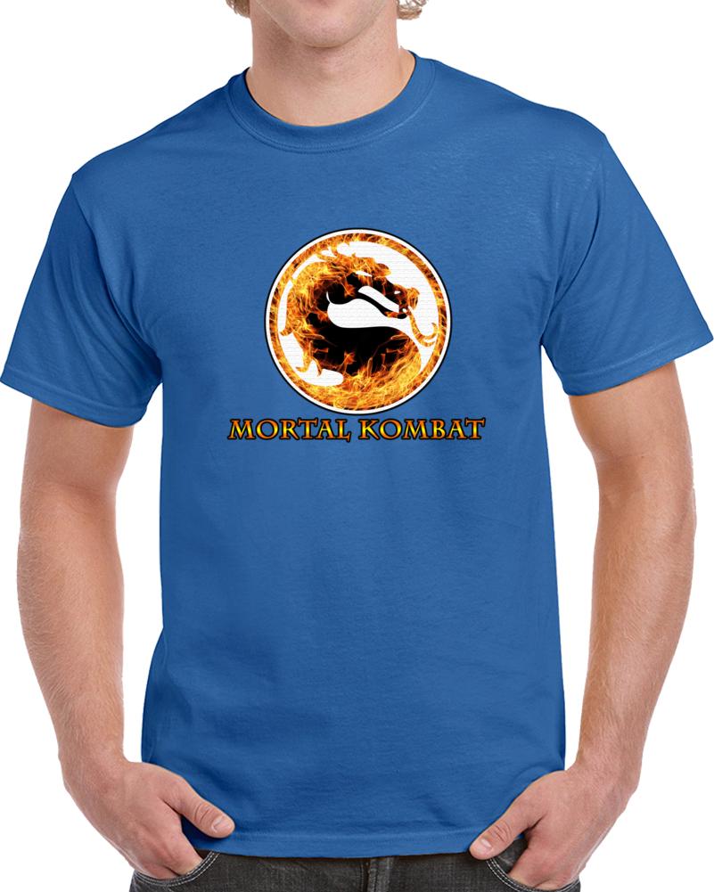Mortal Kombat T Shirt Movie Video Game Series Pc Geek Films Unisex Top