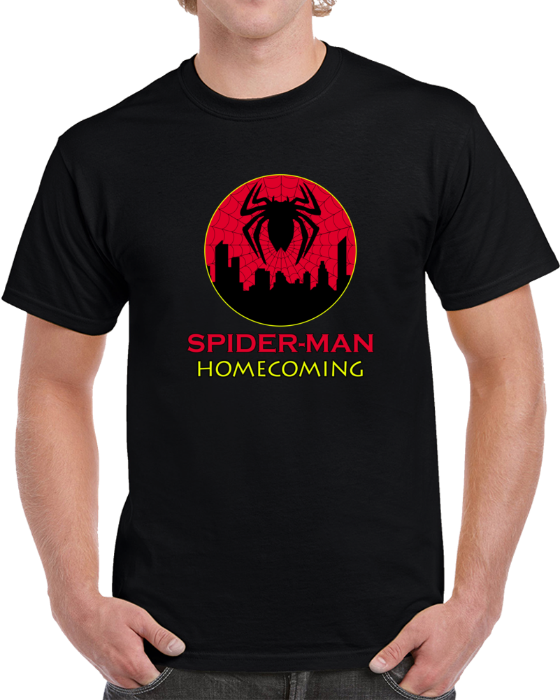 Spider-man Homecoming 2 Movie T Shirt Sequel Villain 2k19 Unisex Top