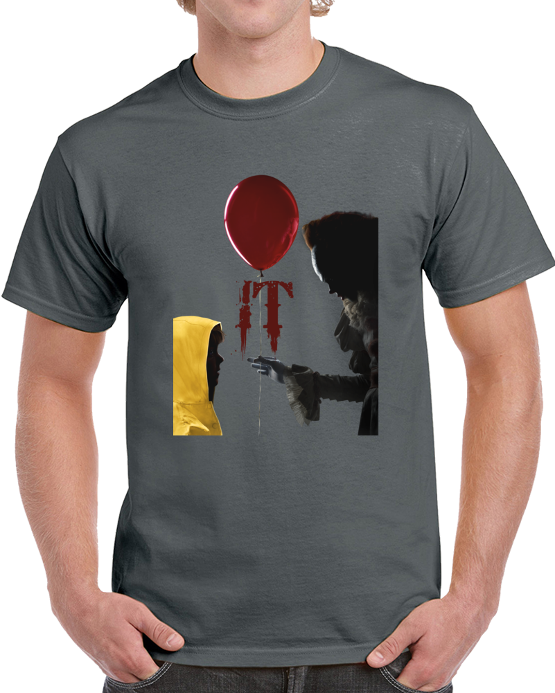 It Movie 2k17 T Shirt Stephen King Pennywise The Dancing Clown Bob Gray