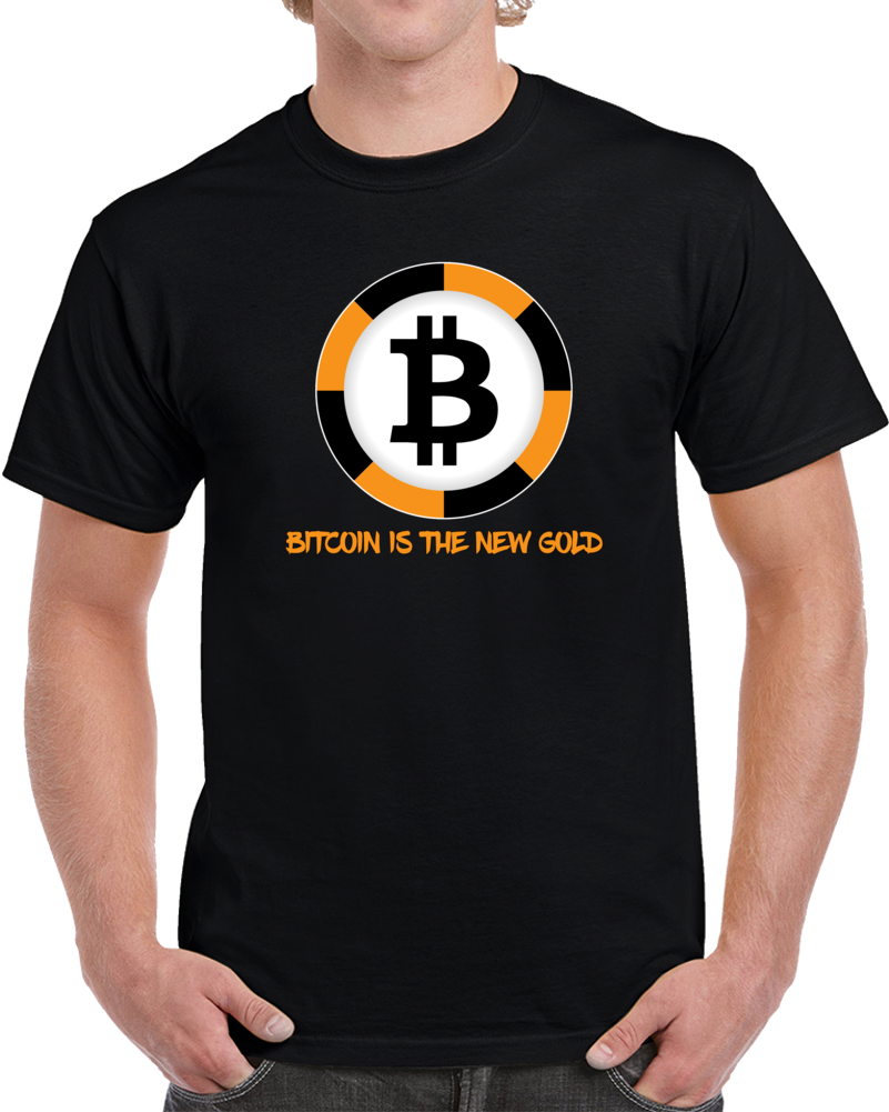 Bitcoin T Shirt Bitcoin Is The New Gold Bitcoin Mining Wallet Unisex Top