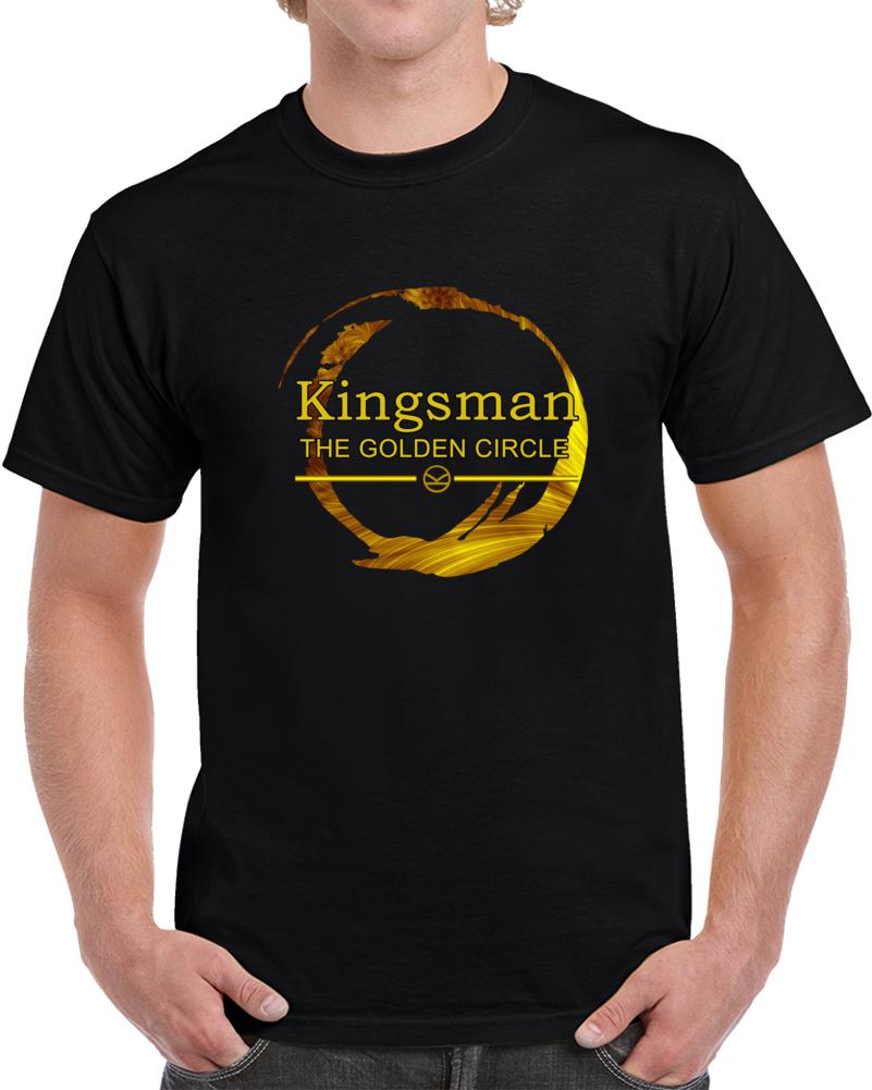 Kingsman The Golden Circle 2k17 Movie T Shirt Harry Hart Charlie Eggsy