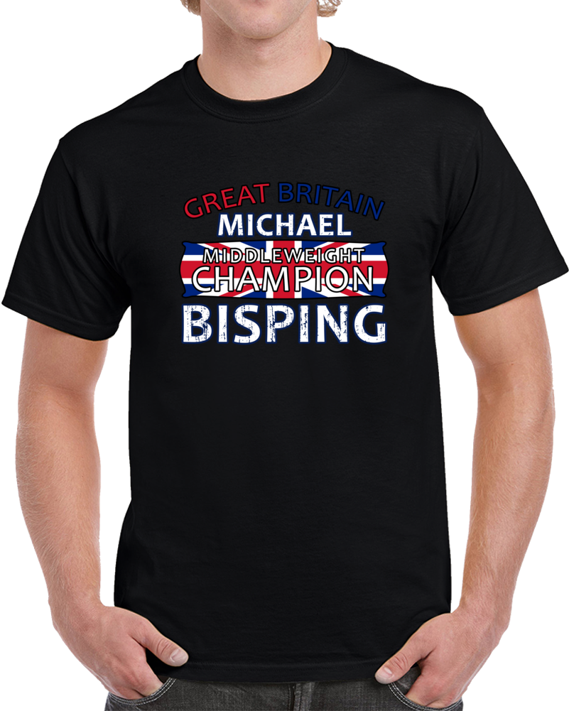Michael Bisping UFC Middleweight Champion T Shirt MMA Movie Great Britain