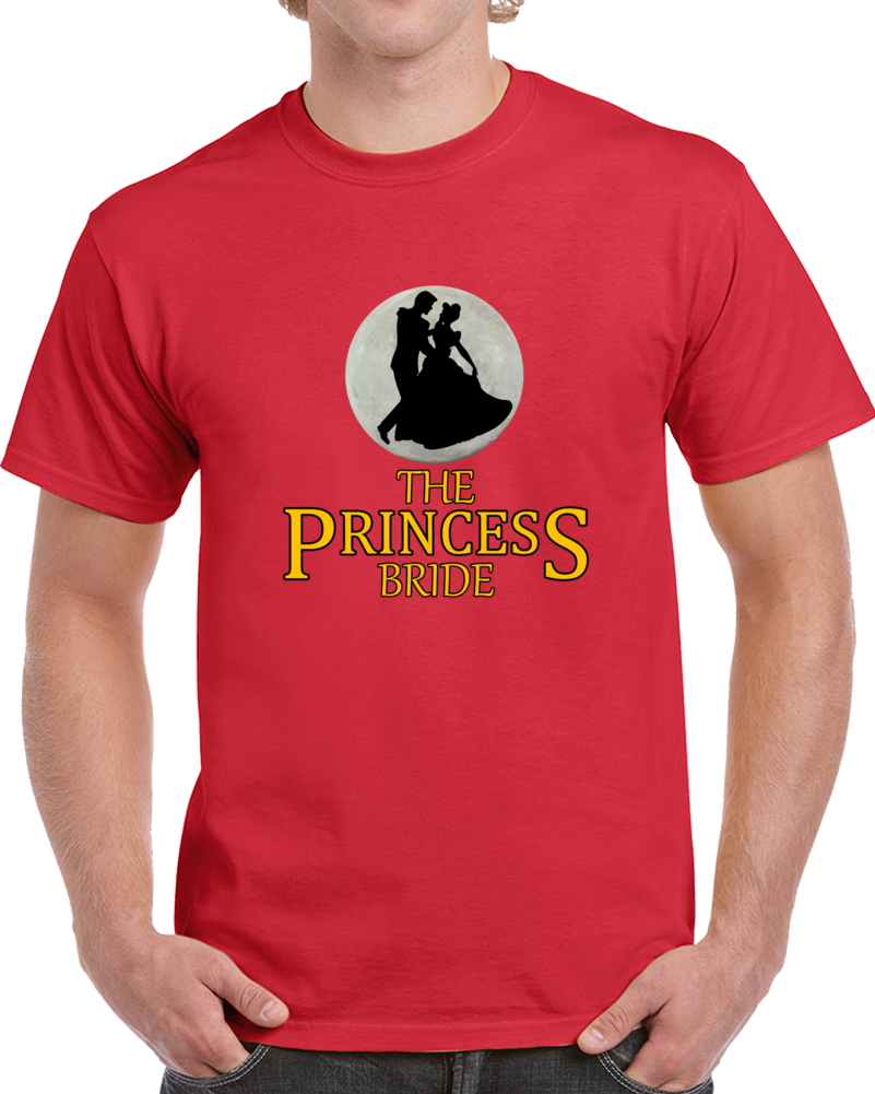 The Princess Bride Westley Heroes Giants Villains Wizards True Love Top T Shirt
