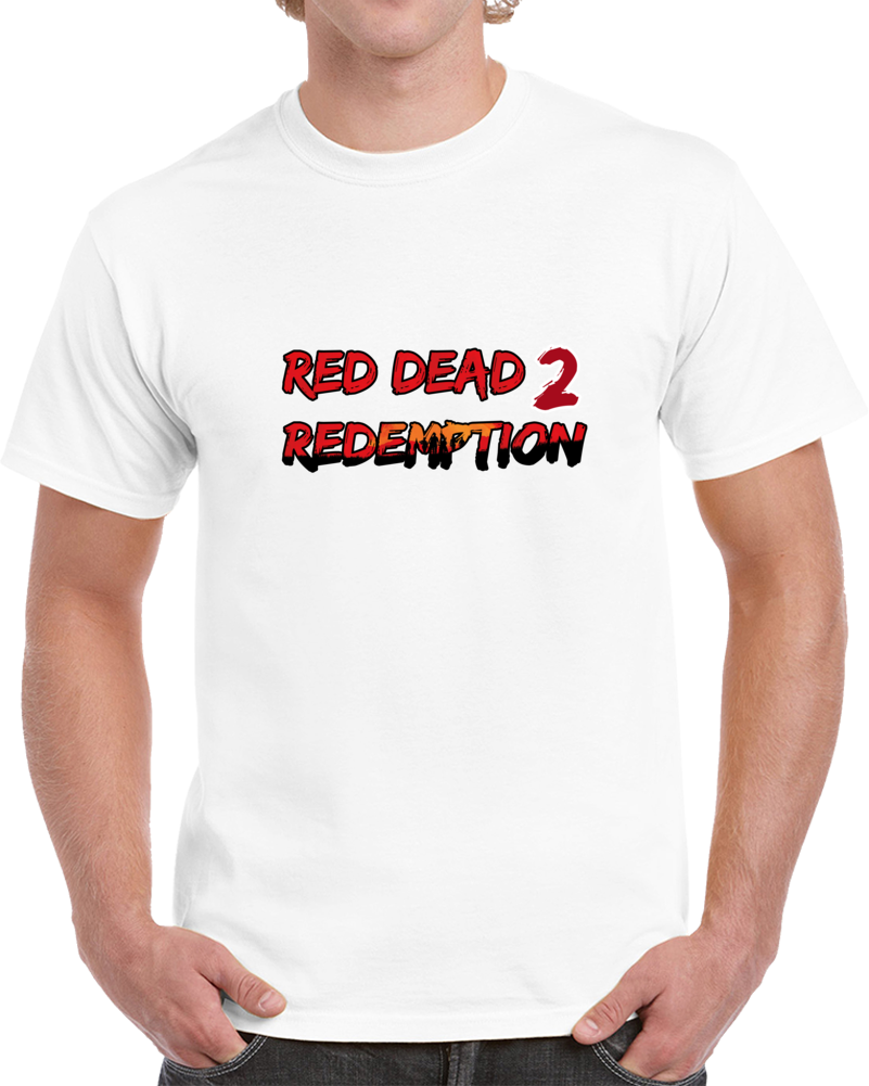 Red Dead Redemption 2 Video Game T Shirt Red Dead Pc Gamer Geek Top