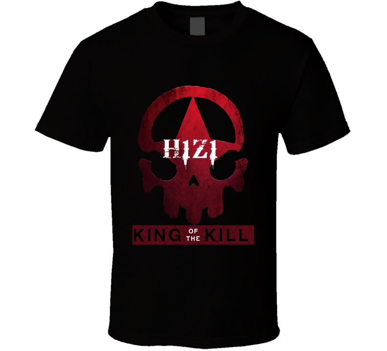 H1Z1 King of the Kill T Shirt H1Z1 Battle Royale Just Survive Gamer Top