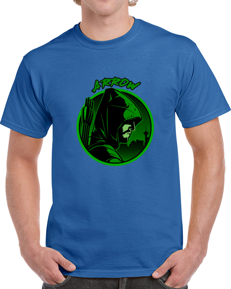The Arrow American Television Series T Shirt Green Arrow Oliver Queen