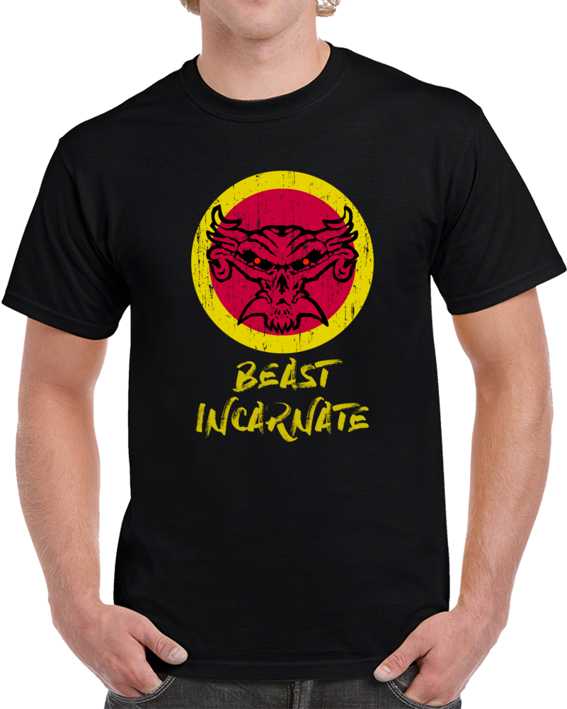 Brock Lesnar T Shirt The Beast Incarnate WWE 2K18 Bork Laser Sable Top