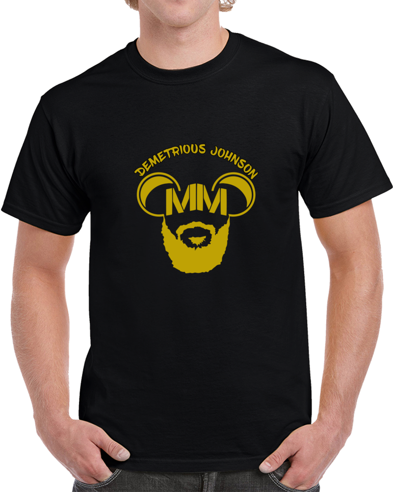 Demetrious Johnson Mighty Mouse UFC MMA T Shirt Flyweight Champion Top