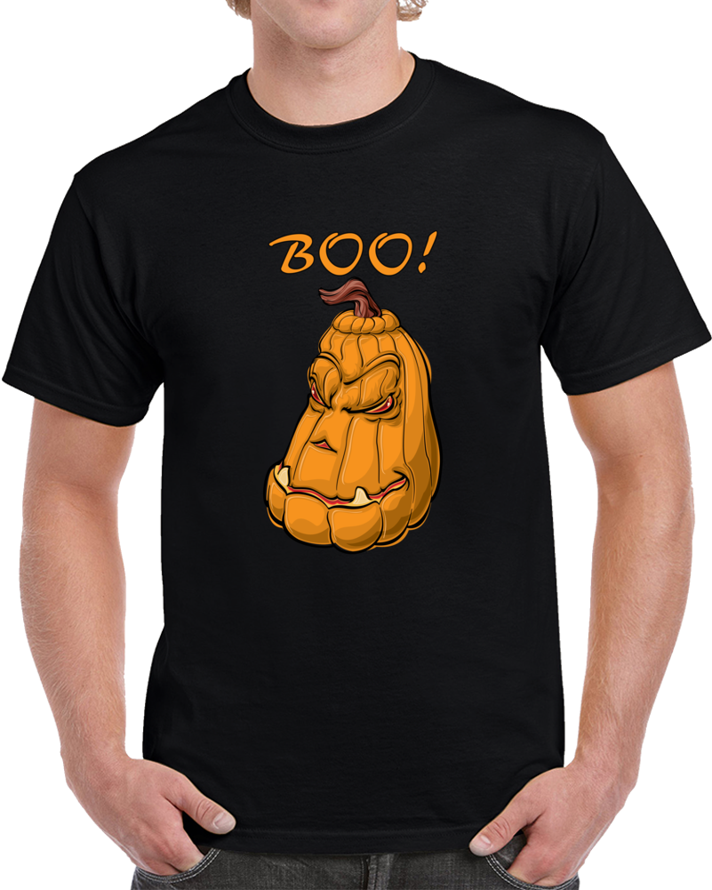 Happy Halloween Boo Pumpkin T Shirt Boo! a Madea Halloween Evil Scary Top
