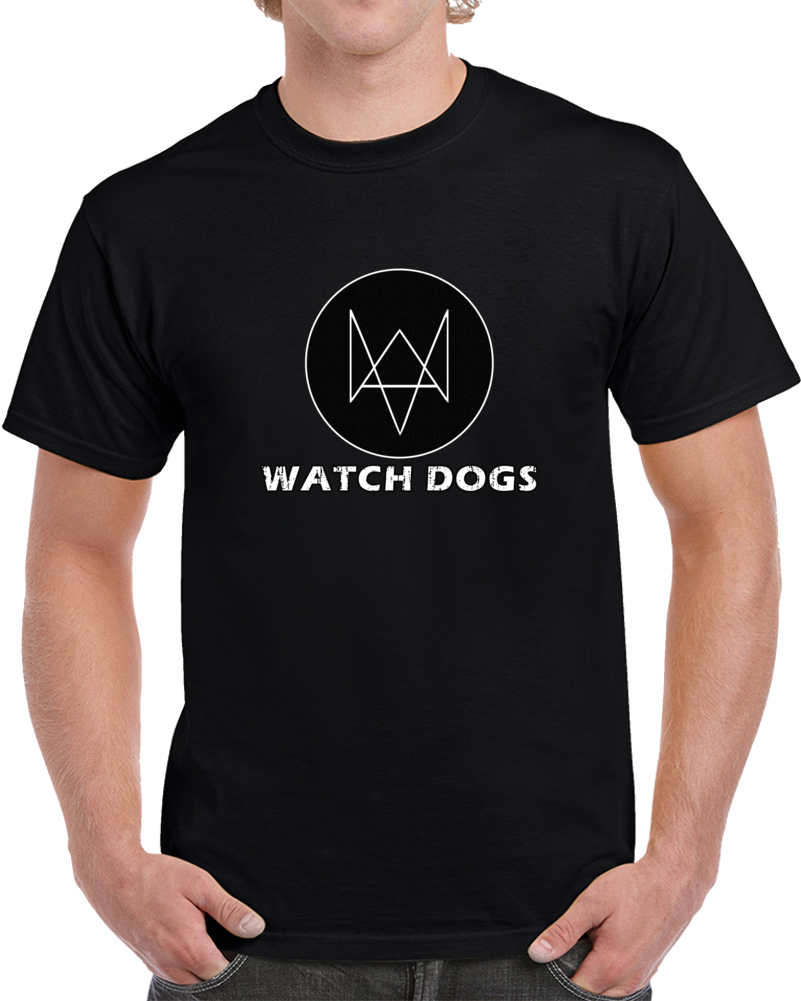 Watch Dogs Video Game Series T Shirt PC Gamer Geek WD2 Ubi Soft Top