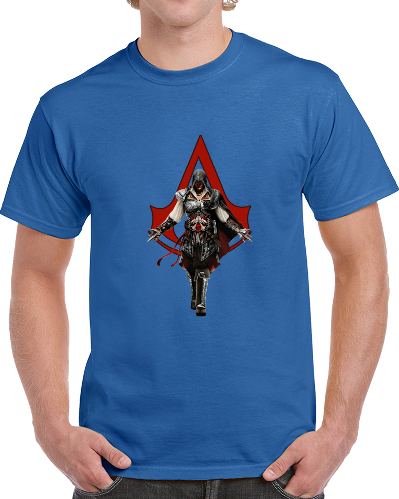Assassin's Creed T Shirt Movie Video Game Series Syndicate Rogue Top