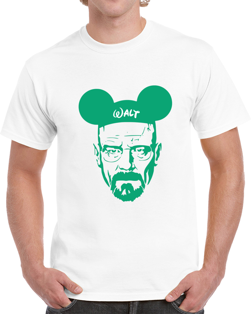 Walt Heisenberg T-shirt Mickey Mouse Hat Funny Say My Name Breaking Bad