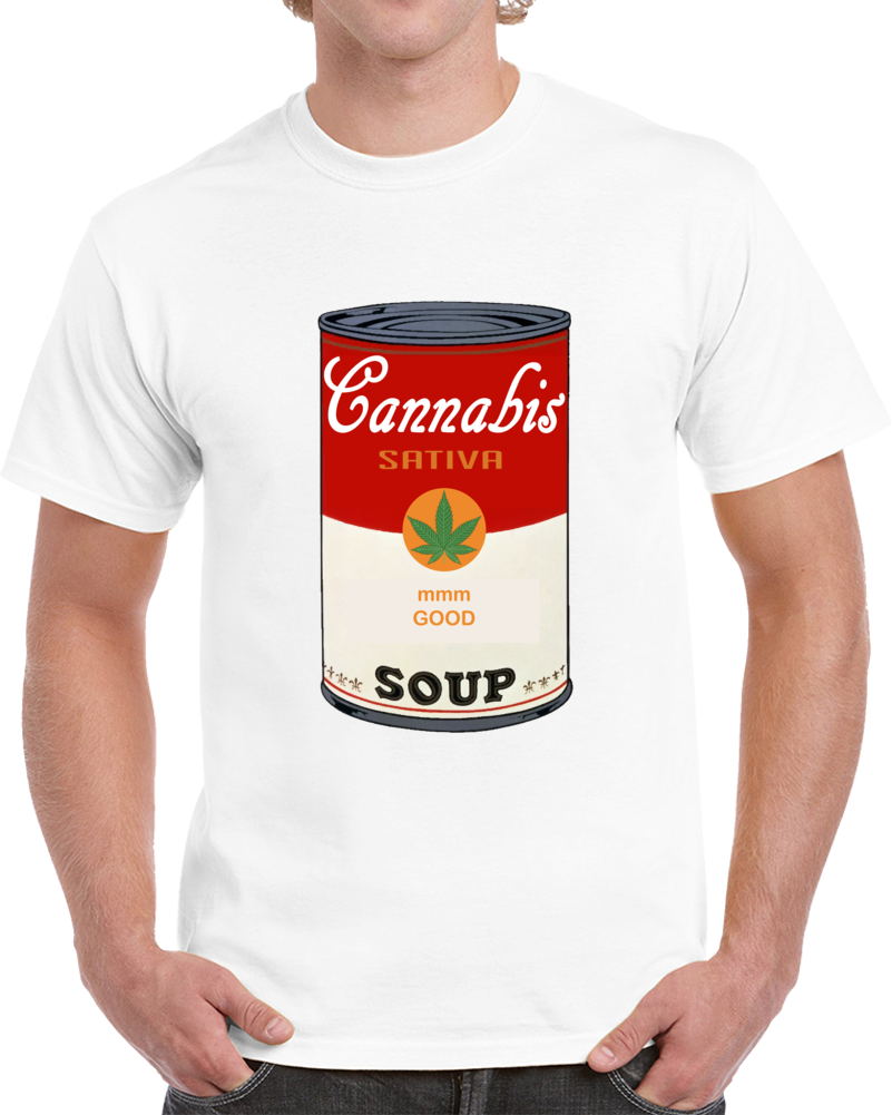 Campbell's Soup Sativa Weed That 70's Show Steven Hyde Hyde and Jackie T Shirt