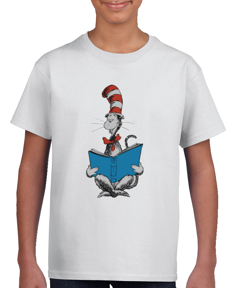 Dr. Seuss The Cat In The Hat - Reading T-shirt Green Eggs And Ham Top