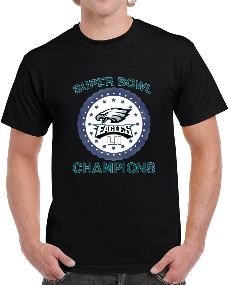 Champions Of The World Philadelphia Eagles Rocky Super Bowl Top T Shirt