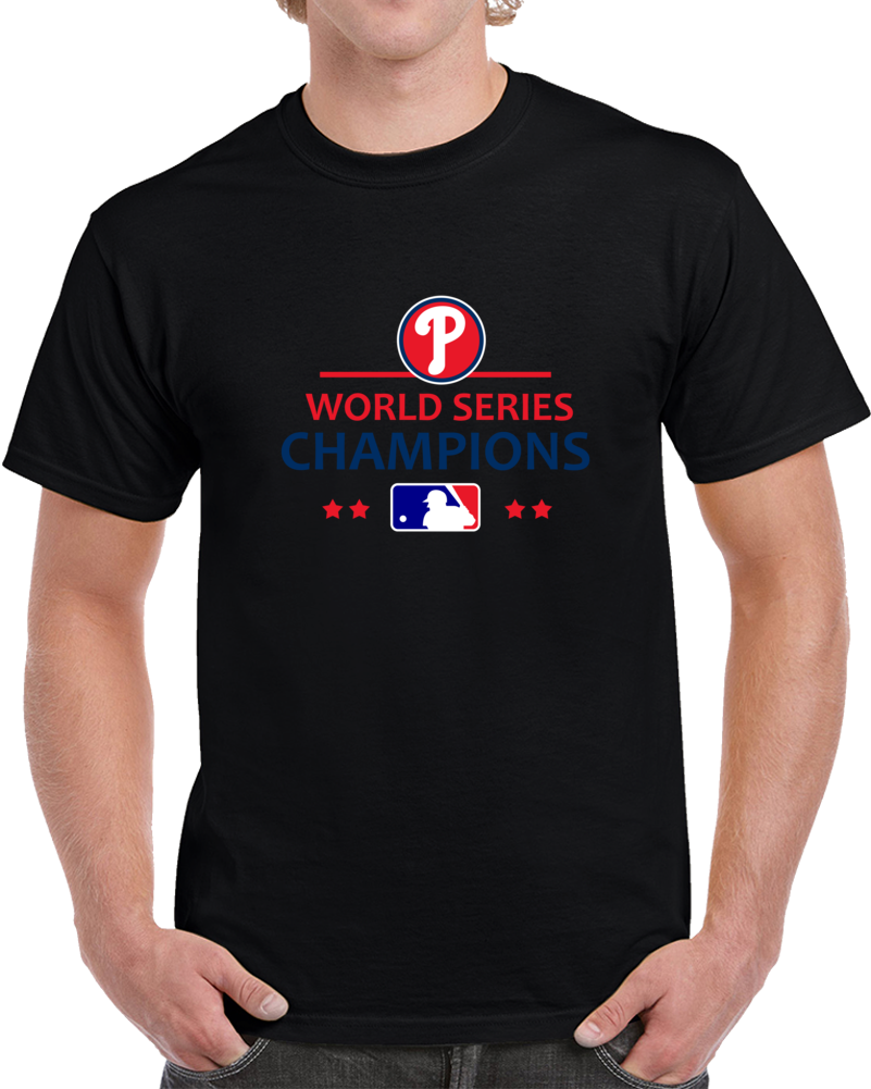 2008 World Series Champions Philadelphia Phillies Mlb Unisex T Shirt