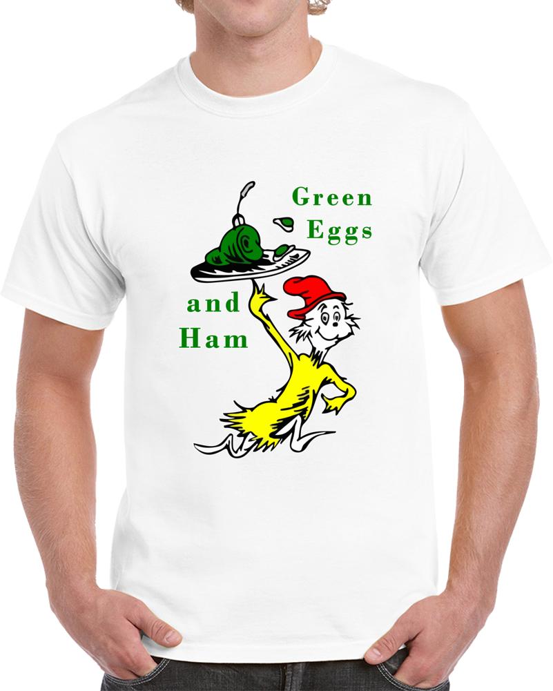 Green Eggs And Ham Dr Seuss Popular Childrens Books Unisex T Shirt Top