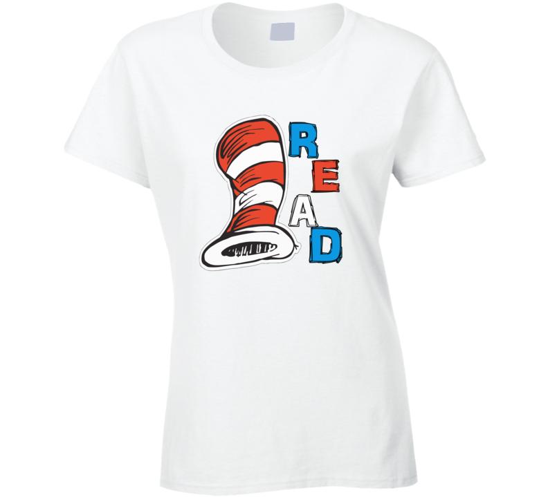 Dr. Seuss Shirt Teacher Of All Things T-shirt Gift For Women Cat In The Hat