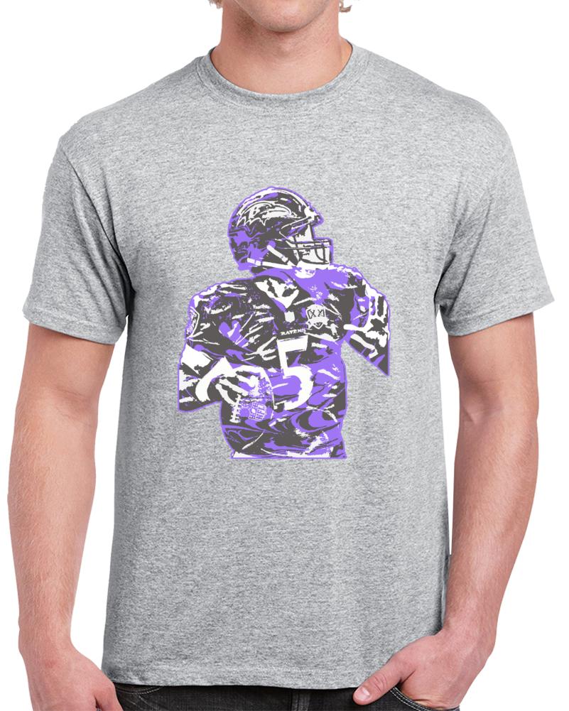 Terrell Suggs Joe Flacco Elite Debate Super Bowl Nfl T Shirt T-sizzle