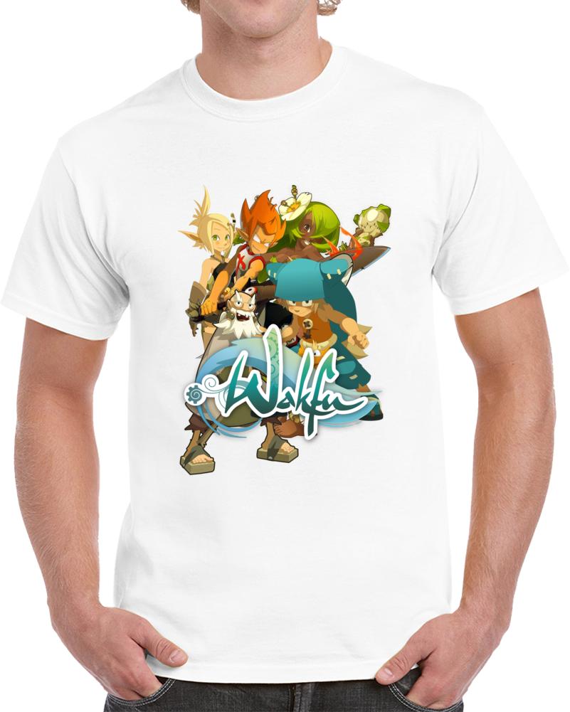 Wakfu Cartoon Tv Show T Shirt Game Movie Character Dofus Wildstar Top