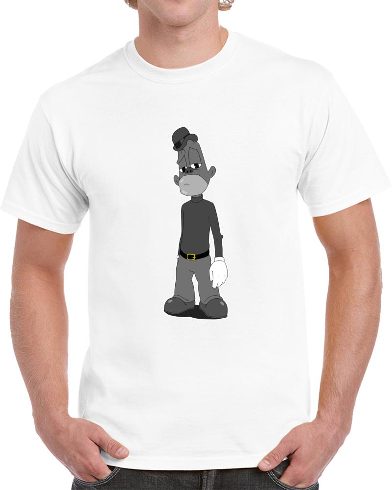 Jay Z Jaybo Da Story Of Oj Cartoon T-shirt 4:44 Hip Hop Song Character