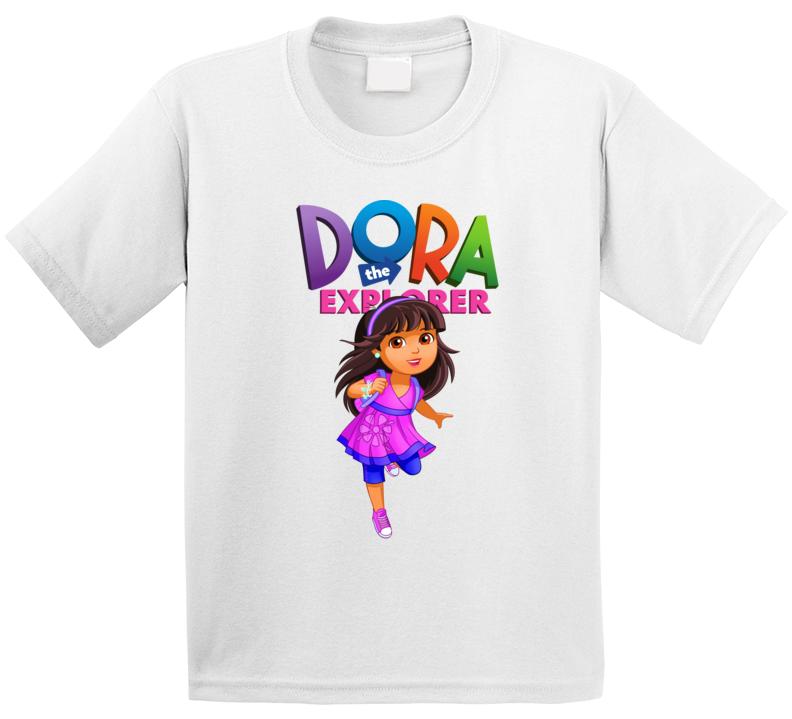 Nickelodeon Dora The Explorer Toddler Girl's T-shirt Dora And Friends
