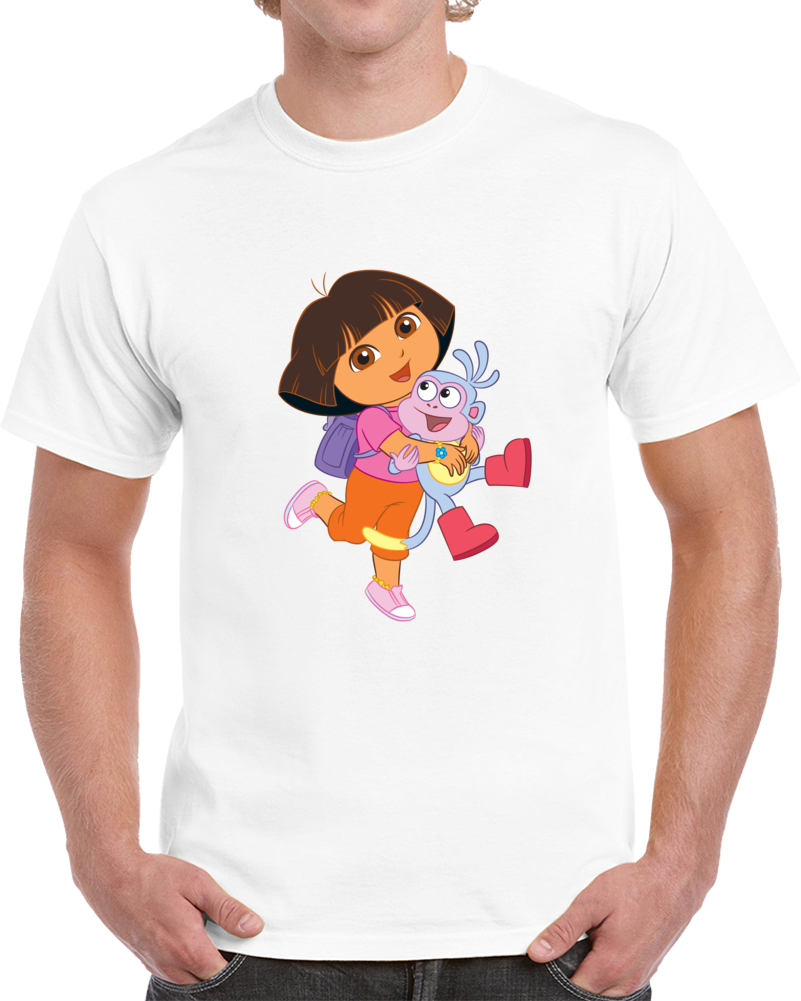 Nickelodeon Dora The Explorer T-shirt Dora And Friends Into The City