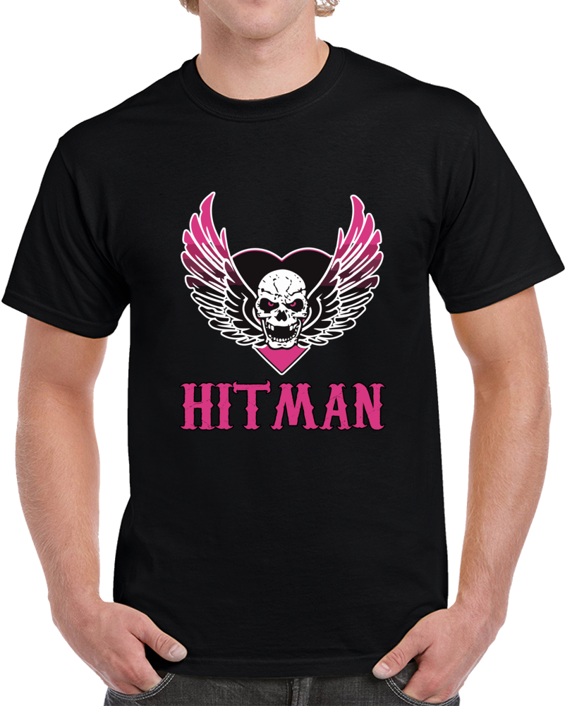Bret Hart Survival of The Hitman T Shirt Wrestler WWF WWE WCW Top Tee