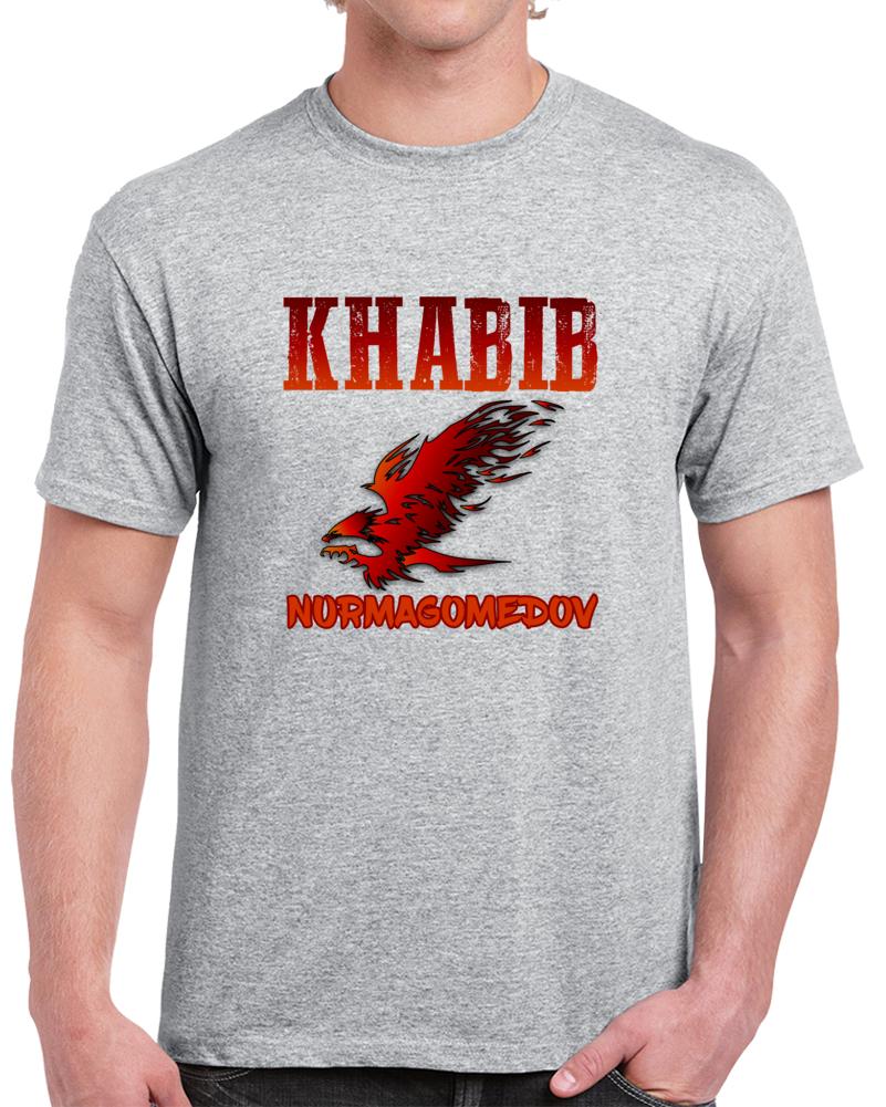 Khabib Nurmagomedov T Shirt Eagle Ufc Mma Combat Sambo World Champion