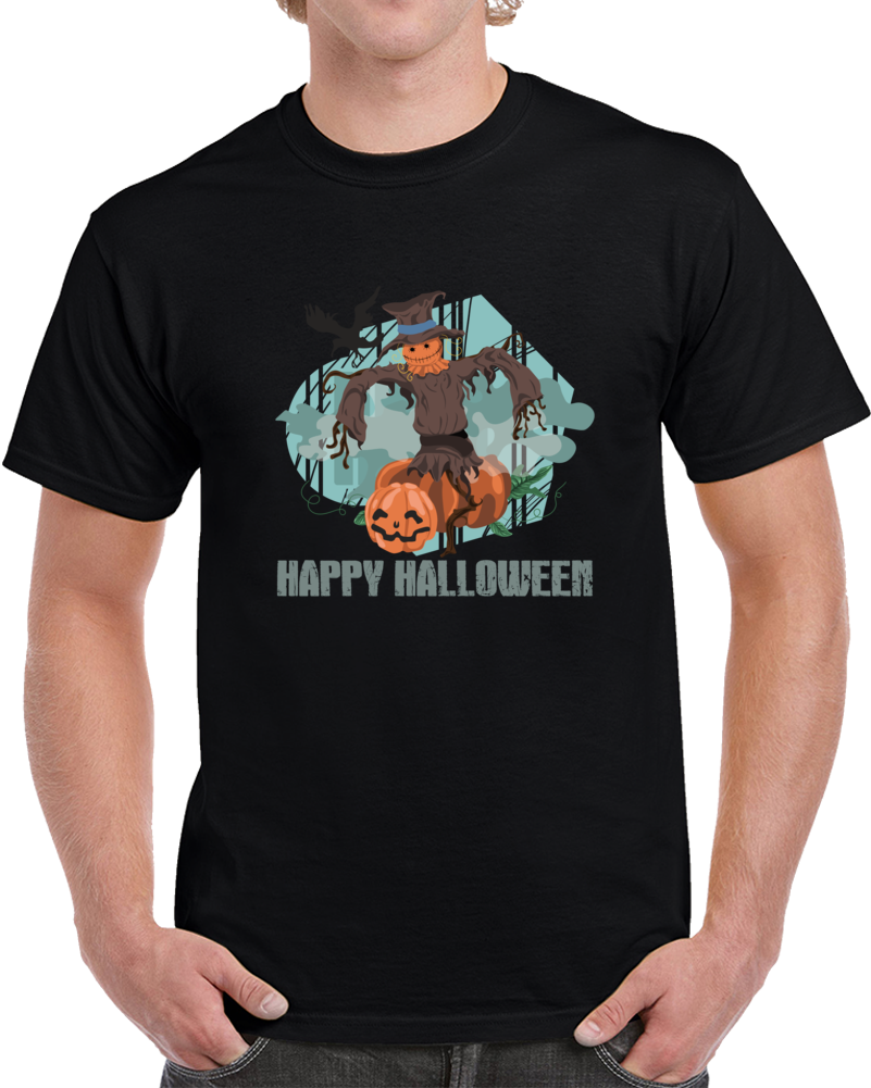 Happy Halloween Witches Shirt For Halloween Party T-shirt Scary Top