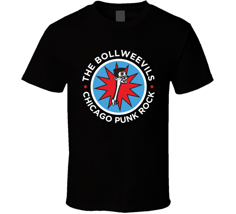 The Bollweevils Chicago Punk Rock T Shirt
