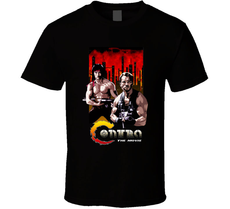 Contra Games The Movie Anorld  T Shirt