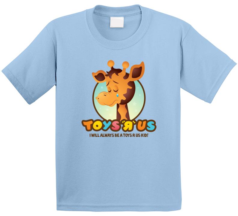 Toys R Us Giraffe  Sad T Shirt