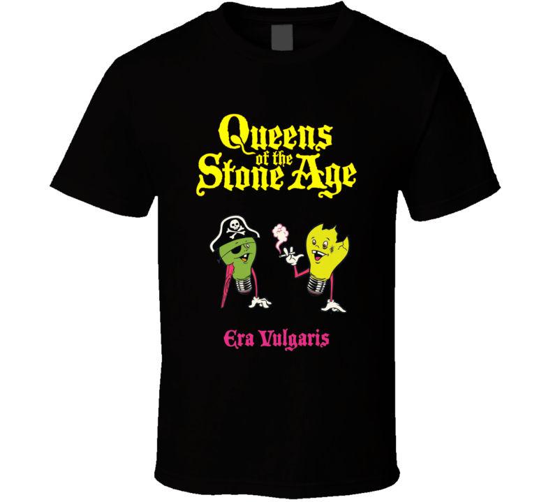 Qotsa New  Queens Of The Stone Logo  T Shirt