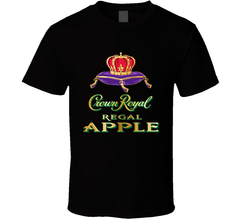 New The Crown Royal Regal Apple T Shirt