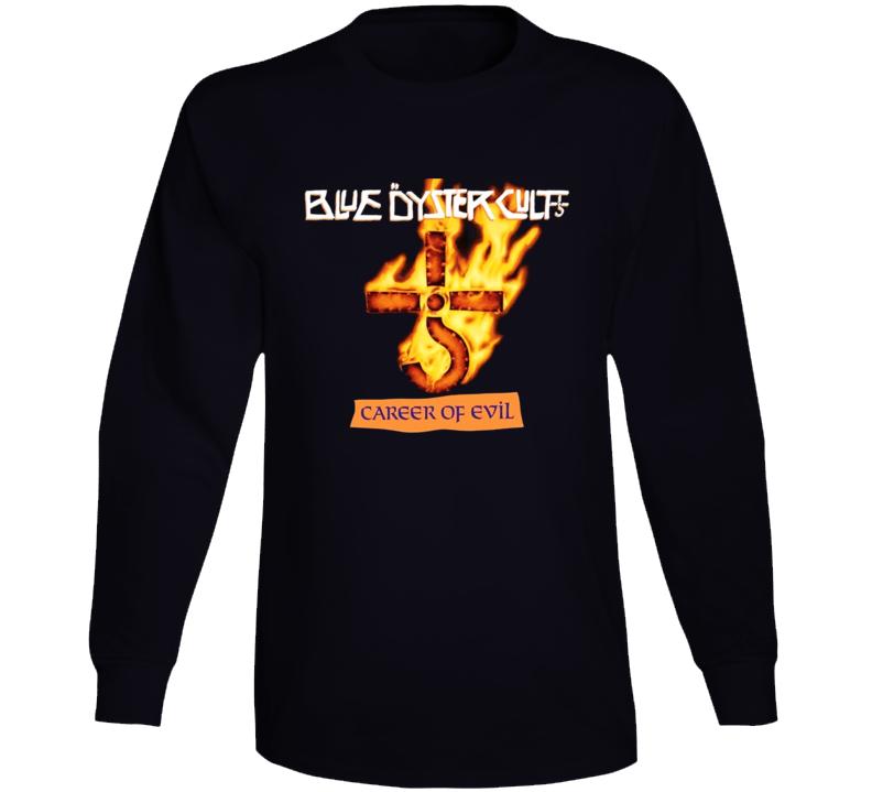 Boc Blue Oyster Cult Career Of Evil Long Sleeve