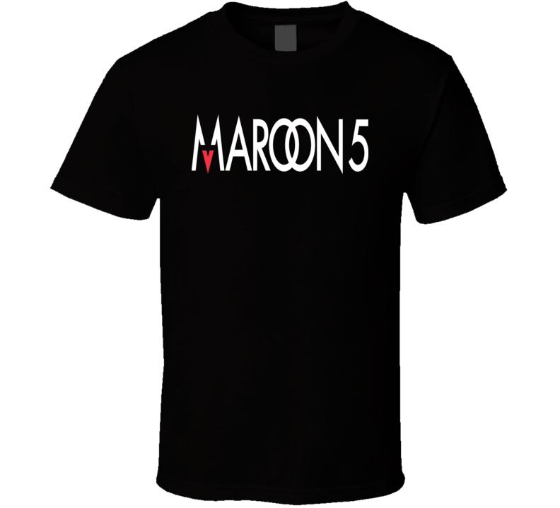 New Maroon 5 Logo  T Shirt